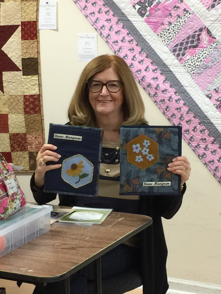 Stitching Society projects by Diane Mangrum