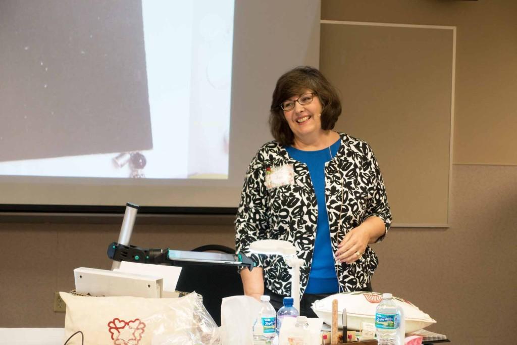 Teaching, 2015 Fall Tea & Stitches