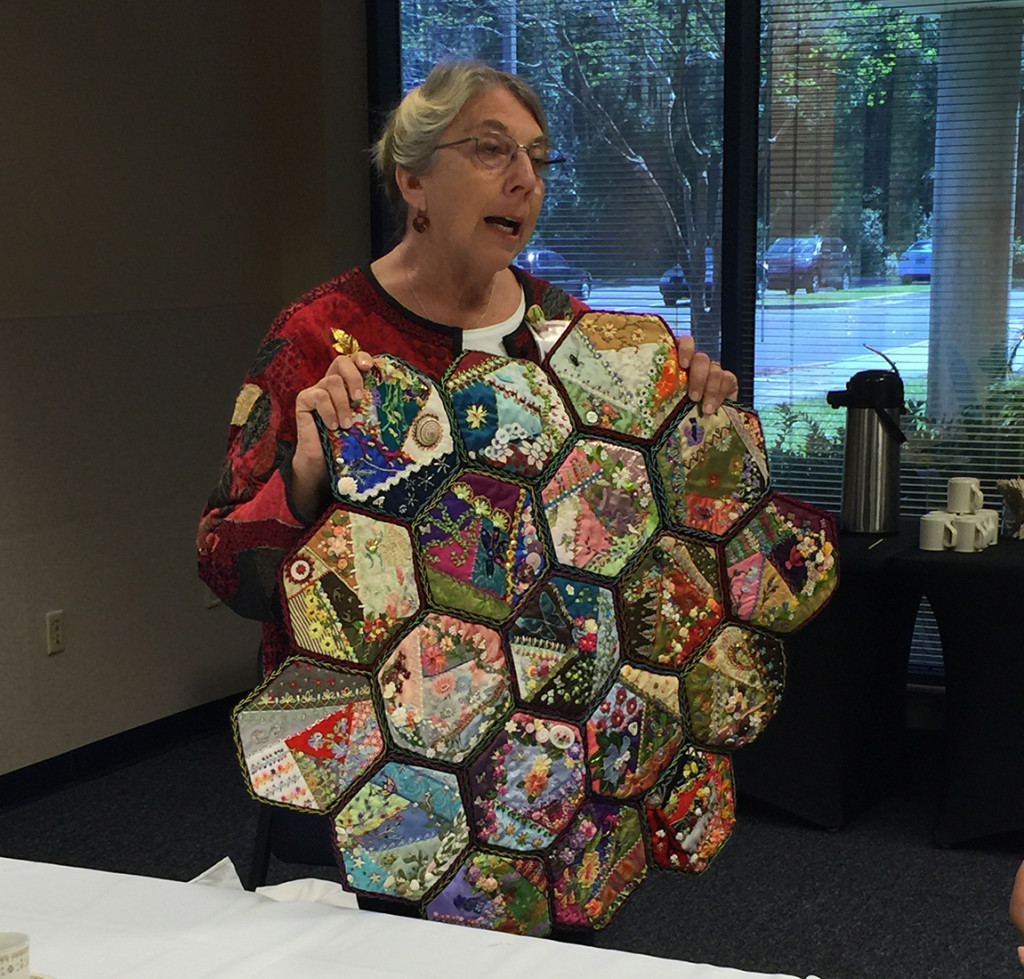 Pat S's Foolproof Crazy Quilting